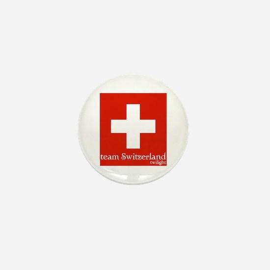 team Switzerland Mini Button