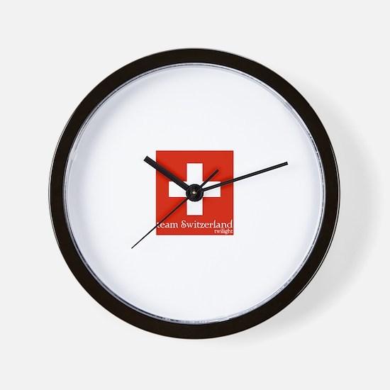 team Switzerland Wall Clock