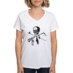 Michigan Native Women's V-Neck T-Shirt