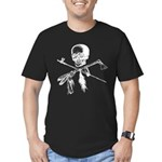 Michigan Native Men's Fitted T-Shirt (dark)