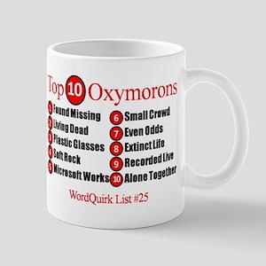 top-10-oxymorons-top-ten-oxymorons Mugs