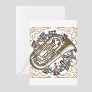 Tuba Love Greeting Cards (Pk of 20)