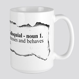 BOGAN - Uncouth young person Large Mug