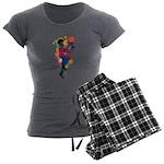 TJ Aking Women's Charcoal Pajamas