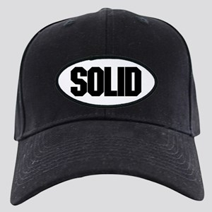 SOLID Black Cap