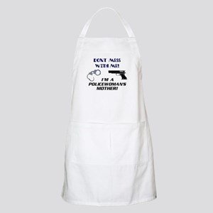 Policewoman's Mother BBQ Apron