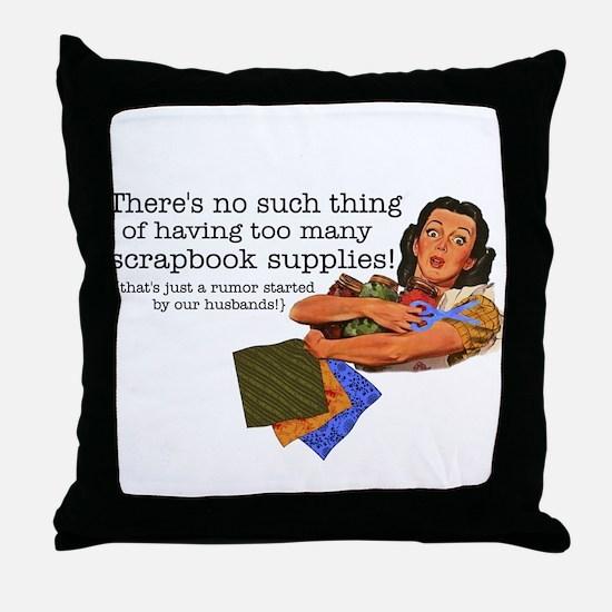 Rumor Throw Pillow
