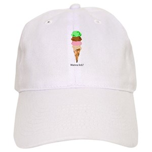 a311d8d7277 Cool As Ice Cream Hats - CafePress