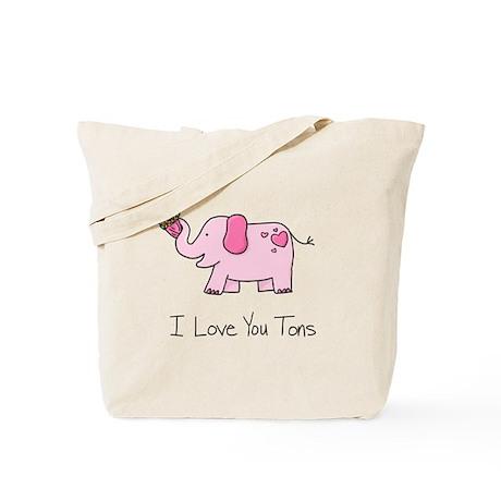 I Love You Tons - Tote Bag