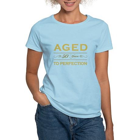 Stylish 50th Birthday Women's Light T-Shirt