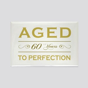 Stylish 60th Birthday Rectangle Magnet