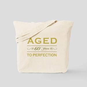 Stylish 60th Birthday Tote Bag