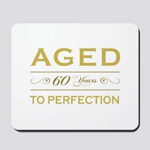 Stylish 60th Birthday Mousepad