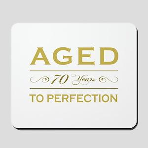 Stylish 70th Birthday Mousepad