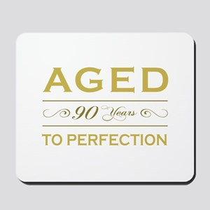 Stylish 90th Birthday Mousepad