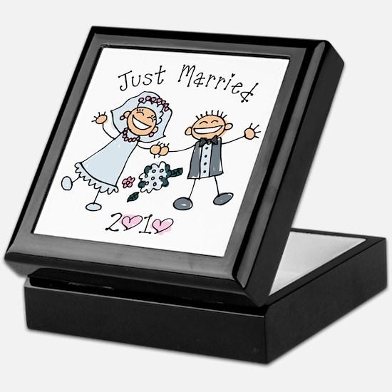 Stick Just Married 2010 Keepsake Box