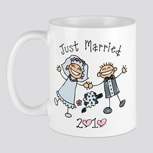 Stick Just Married 2010 Mug