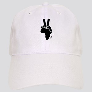 Africa Peace Sign Cap