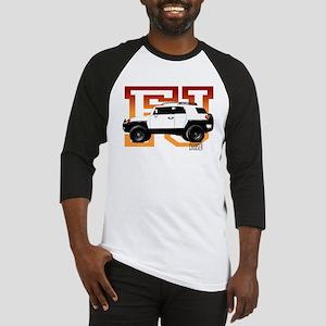 FJ Cruiser Red-Orange Baseball Jersey