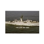 USS LANG Rectangle Magnet (100 pack)