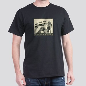 1 Slammin' Hot Mammy Black T-Shirt