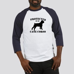 Protected by my Cane Corso Baseball Jersey