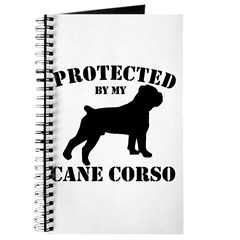 Protected by my Cane Corso Journal