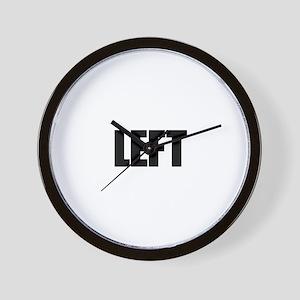 LEFT Wall Clock