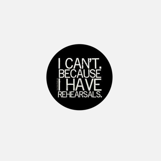 """""""I can't"""" Mini Button"""