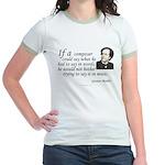 Mahler on Composing Jr. Ringer T-Shirt