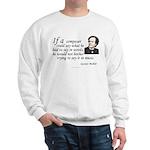 Mahler on Composing Sweatshirt