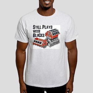 Still Plays With Blocks Light T-Shirt