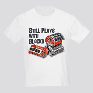 Still Plays With Blocks Kids Light T-Shirt