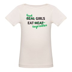 Good Girls Eat Vegetables Tee