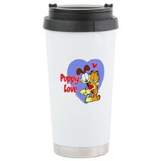 Puppy Love Stainless Steel Travel Mug