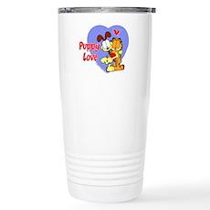 Puppy Love Stainless Steel Travel Mug