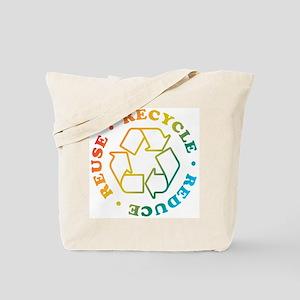 R3 Rainbow Circle Tote Bag
