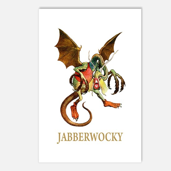 JABBERWOCKY Postcards (Package of 8)