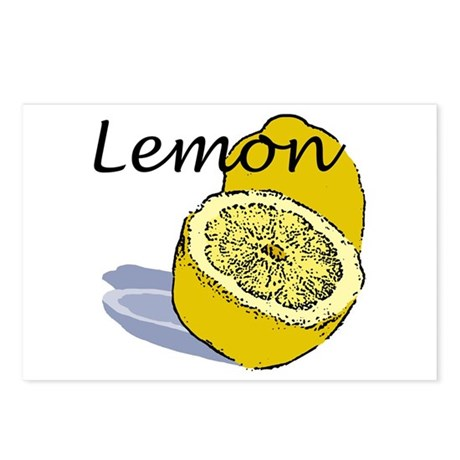 Lemon Postcards (8)