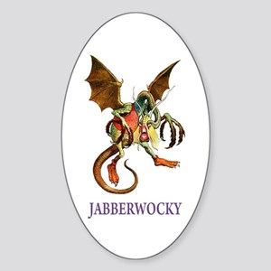JABBERWOCKY Oval Sticker