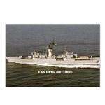 USS LANG Postcards (Package of 8)