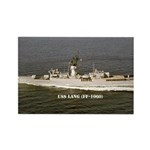 USS LANG Rectangle Magnet (10 pack)
