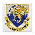 USS LANG Tile Coaster