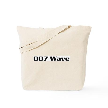 007 Wave Tote Bag