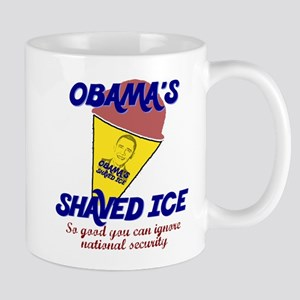 Obama's Shaved Ice Anti-Obama Mug