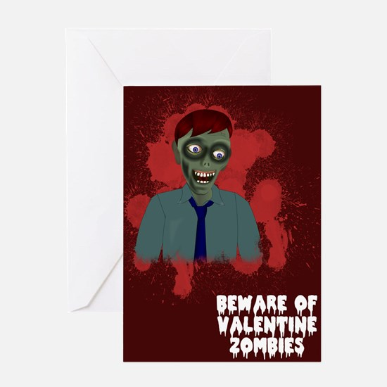 Zombie Love Greeting Card