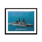 USS LEFTWICH Framed Panel Print