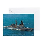USS LEFTWICH Greeting Cards (Pk of 10)