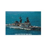 USS LEFTWICH Rectangle Magnet (10 pack)