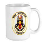 USS LEFTWICH Large Mug